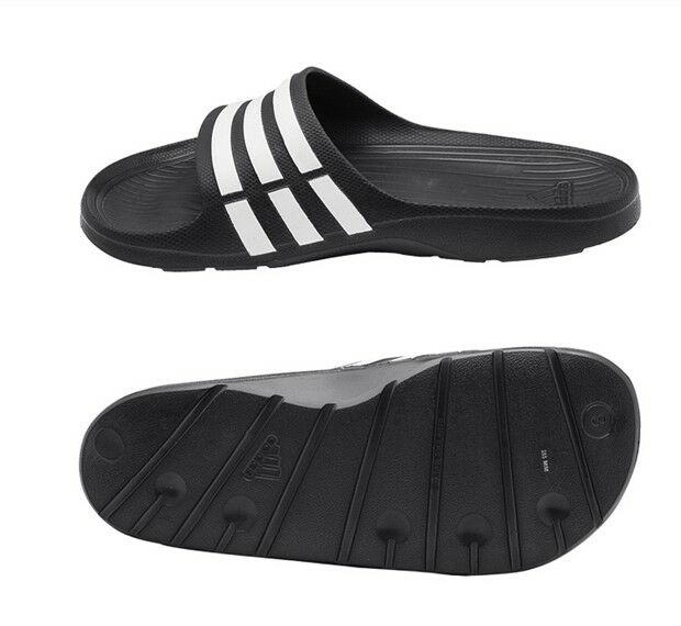 virtual Canadá desayuno  New Mens Adidas SANDAL Duramo Slides (G15890) All Sz Adidas Beach Slippers  for sale online