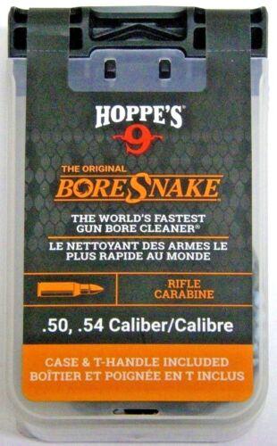 HOPPE'S Boresnake Bore Snake w/Snake Den Case 50, 54 Caliber Muzzleloader 24020D