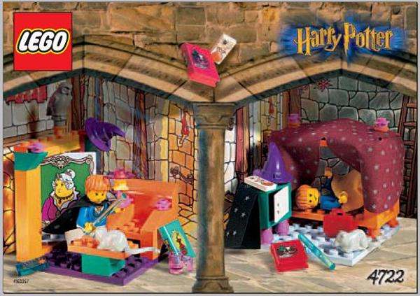 LEGO 4722 - HARRY POTTER - GRYFFINDOR haus - 2001