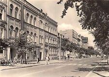 AK Guben Wilhelm-Pieck-Strasse Geschäfte Echt Foto Postkarte