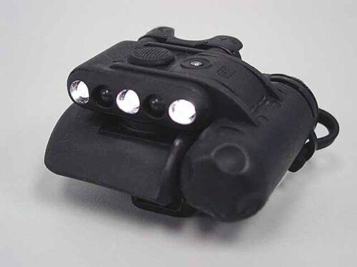 Élément Airsoft Casque Lumière Set Gen 2 Noir