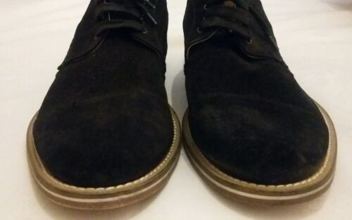 Leather Made up In Uk Lace Suede Boemos 44 Eu Black Size Derby 5 Shoe 9 Italy 1HSxXn8