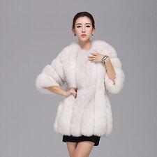 Luxury Women Warm Winter Casual Faux Fur Parka Coat Overcoat Long Jacket Outwear