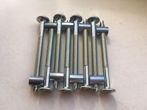 8er-Pack-Innensechskant-schrauben-70-mm-8-st-Zylindermutter-M6x10-13mm