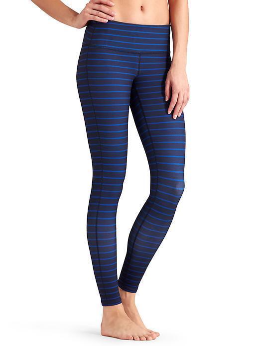 NWT Athleta Stripes Chaturanga Tight, Dress bluee Admiral bluee 2 SIZE S