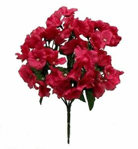 72 hydrangea flowers fuchsia hot pink silk wedding bouquet image is loading 72 hydrangea flowers fuchsia hot pink silk wedding mightylinksfo