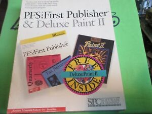 PFS-FIRST-PUBLISHER-amp-DELUXE-PAINT-II-RETAIL-BOX-5-25-DISK-MS-DOS-VERSION