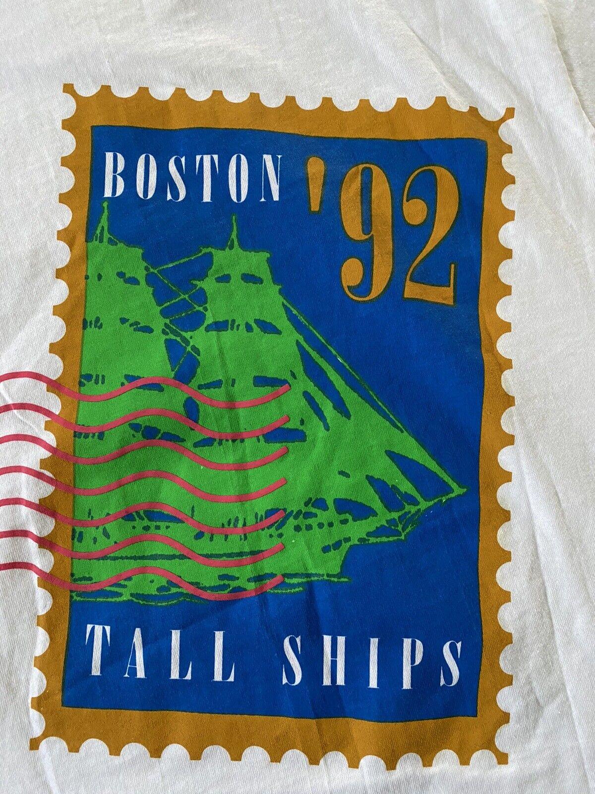 VTG 1992 Christopher Columbus Boston 92 America 5… - image 3