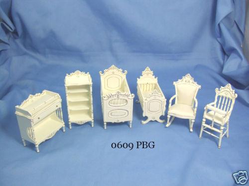 Hansson Miniature Half inch 1:24 Nursery Room Set
