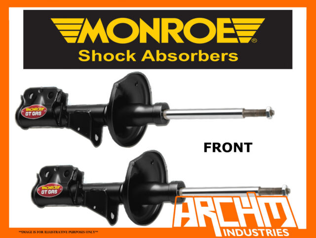 HOLDEN COMMODORE VY V6 V8 1 TONNER UTE FRONT MONROE GT GAS SHOCK ABSORBERS