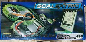RARE-SCALEXTRIC-C1330-Digital-Platinum-6-car-Racing-set-BRAND-NEW
