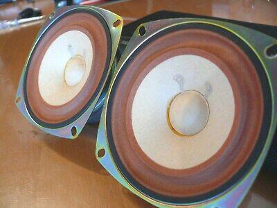 Treu 2 Dynacord Breitbandlautsprecherhm. 6 Ohm. 10,5 Cm. In Bestzustand. Geprüft. Top Verkaufspreis