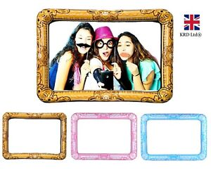Giant Inflatable Photo Frame Selfie Booth Props Blow Up Hen Party