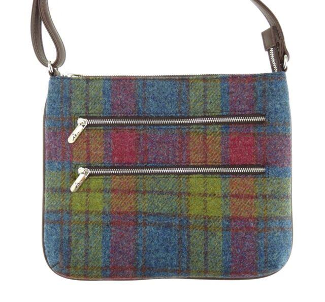 Ladies Harris Tweed Large Spey Tote Bag Multiple Colours LB1028