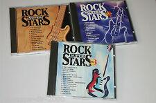 ROCK SUPER STARS VOL.1 2 3 / CD'S MIT QUEEN SCORPIONS NAZARETH MIKE OLDFIELD ...