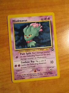 #39 MISDREAVUS NM POKEMON BLACK STAR PROMO CARD