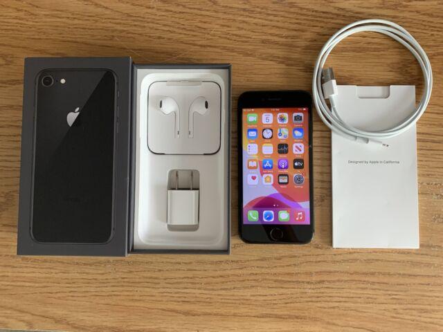 Apple iPhone 8 -64GB - Space Gray-Sprint/T-mobile- Grade C cond.-cln esn- NO SIM