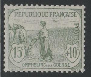 FRANCE-STAMP-TIMBRE-N-150-034-ORPHELINS-FEMME-LABOUR-15c-10c-034-NEUF-xx-SUP-K479