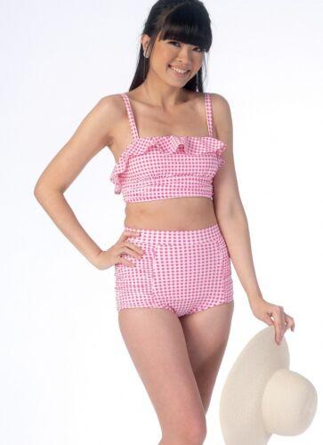 McCalls Girls Sewing Pattern 7168 Bikini Swimsuits McCalls-7168-M