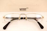 Brand Mont Blanc Reading Glasses Eyeglasses 448 028 Gold For Men Women