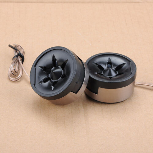 EFLE 350W New Car Vehicle Dome Loud Speaker Black Horn Audio Tweeter Pair