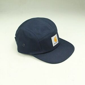 Carhartt-Backley-5-Panel-Cap-Brand-New-in-Navy-Blue-One-size-fits-all
