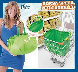 Borsa carrello della per la spesa porta spesa sacchetti shopper shopping bag