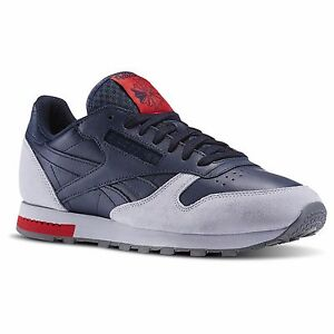 7bbbf08e79ac Reebok CL Classic Leather BD4415 GN Collegiate Navy Original Shoes ...