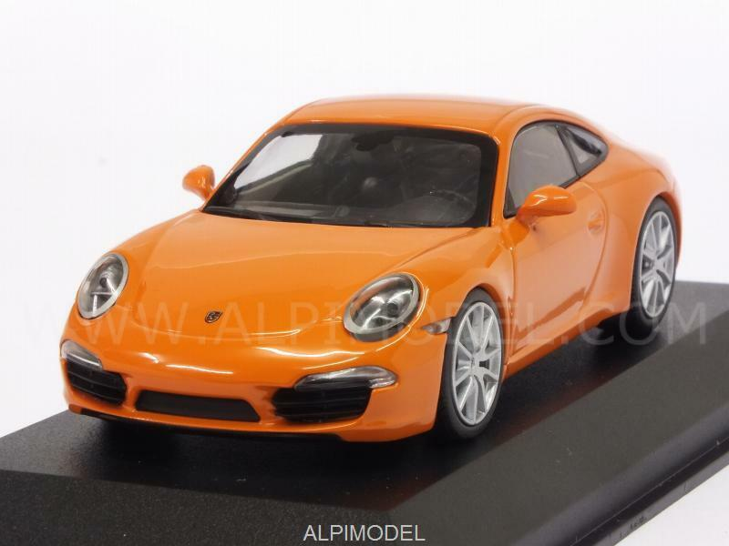 Porsche 911 Carrera S 2012 orange 'Maxichamps' 1 43 MINICHAMPS 940060221