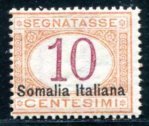 ITALIENISCHE-KOLONIEN-SOMALIA-PORTO-1909-13II-POSTFRISCH-D5914