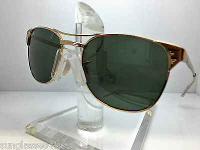 NEW RAY BAN RB 3429M SIGNET 001 55MM SUNGLASSES RB3429M GOLD/GREEN LENS RAYBAN