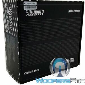 Sundown Audio Monoblock 2350w RMS Amplifier SFB-2000D