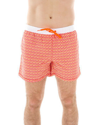Clothing, Shoes & Accessories Trend Mark Cmp Swim Trunks Bermuda Swimwear Red Pattern Drawstring Short Pockets High Quality And Inexpensive