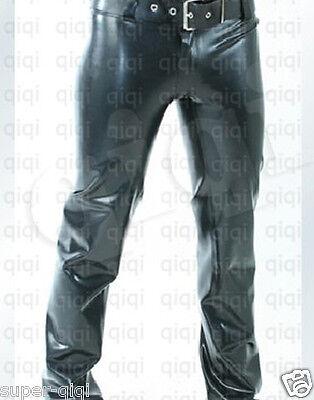 Latex (rubber) Men Trousers -0.8mm suit catsuit girdle
