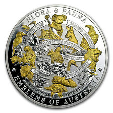 2017 Niue 5 oz Silver Flora & Fauna (Emblems of Australia) - SKU #117582
