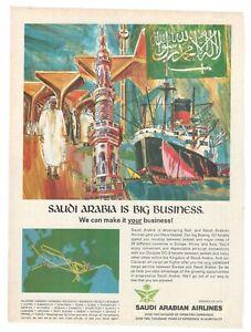 1969-Original-Publicite-039-Advertising-Saudi-Arabian-Airlines-Is-Big-Business