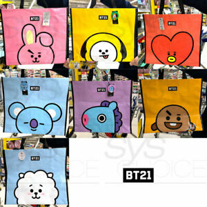 BTS BT21 Official Authentic Goods Classic Shopping Basket + Tracking Number