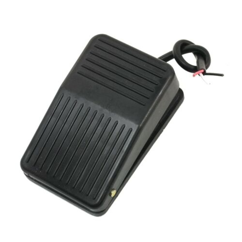 220V 10A SPDT Nonslip plastic Momentary Electric Power Foot Pedal Switch Y3G5
