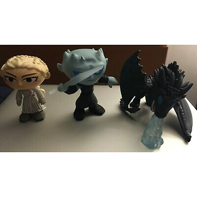 Mystery Mini Game of Thrones Series 4 DAENERYS NIGHT KING ICY VISERION Exclusive
