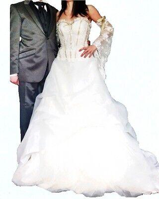 Vestiti Da Sposa Faenza.Wedding Dress Valentini Line Ego Brides Size 40 Wedding Dress Ebay