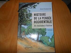 Histoire-de-la-pensee-occidentale-de-RAMPNOUX-2e-edit-Comme-neuf-Bonne-affaire
