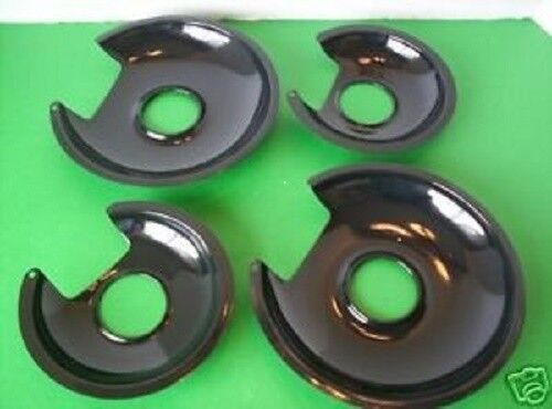 NEW 4 PORCELAIN Drip Pans FOR THE  JENN-AIR Cartridge A100 OR THE JEA7000