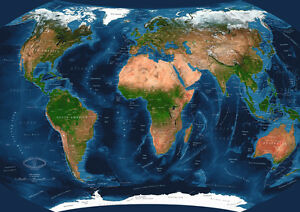 Ravensburger 19308 Satellite World Map Augmented Reality Jigsaw