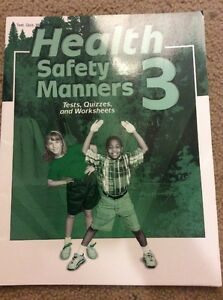 Abeka health safety and manners 3-Quiz/Test/Worksheet Key