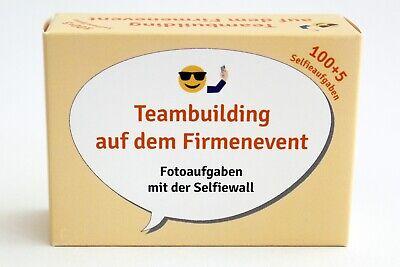 Ausdrucksvoll Teambuilding, 100 Karten, Spiel Mit Lustigen Fotoaufgaben, Mitarbeiter Einbinden