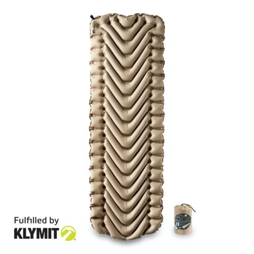 Certified Refurbished Klymit Insulated Static V Recon Sleeping Camping Pad
