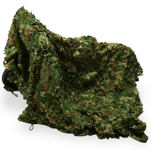 5x23FT  Woodland Shooting Hide Army Camouflage Net Hunting Camp Camo Netting NEW