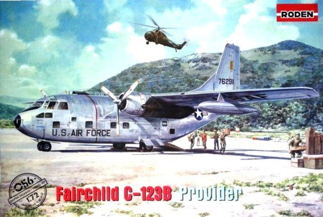 Fairchild C-123 B Provider (USAF, vietnamien AF & Air America MKGS) 1/72 RODEN