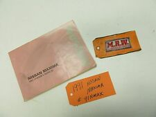 1991 91 NISSAN MAXIMA OWNERS MANUAL OWNER BOOK 89 90 92 93 94 OEM
