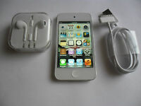 Apple iPod touch 4th Gen White (16GB) Mint Condition with Accessories Gift Idea